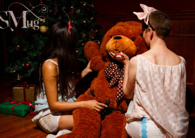 Ageplay time: Be careful not to let your littles out of sight for too long even though it's Christmas time! Photo by Artifexual.